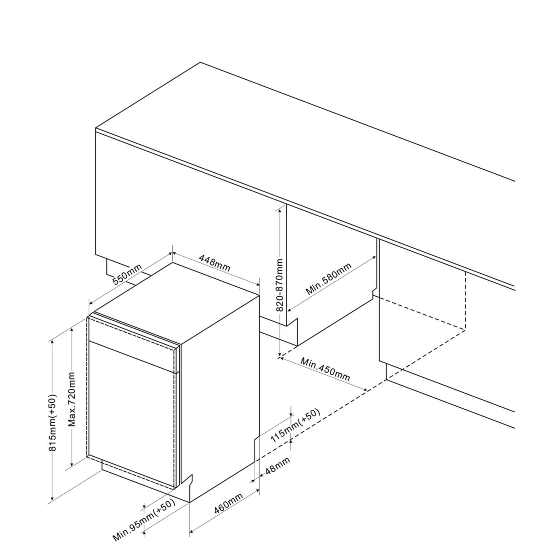 Einbau-Geschirrspueler 246844 / Skizze