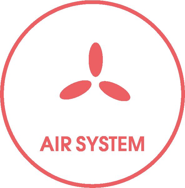 AirSystem (Kühlraum)