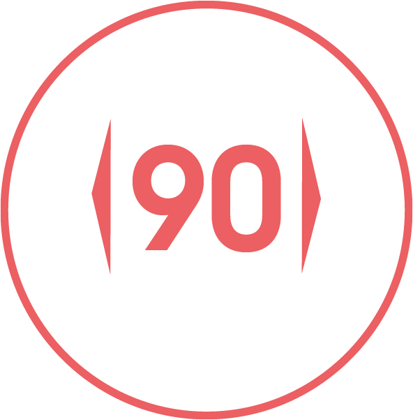Gerätebreite / 90