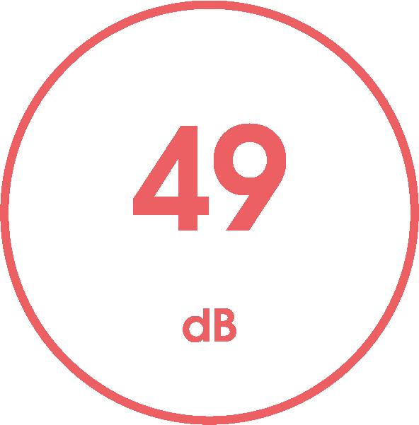 Geräuschpegel in dB / 49