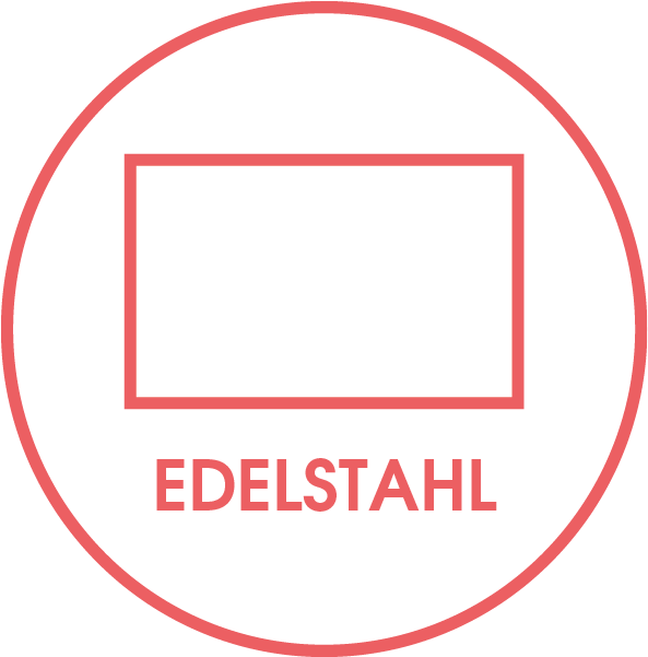 Rahmenvariante Edelstahl